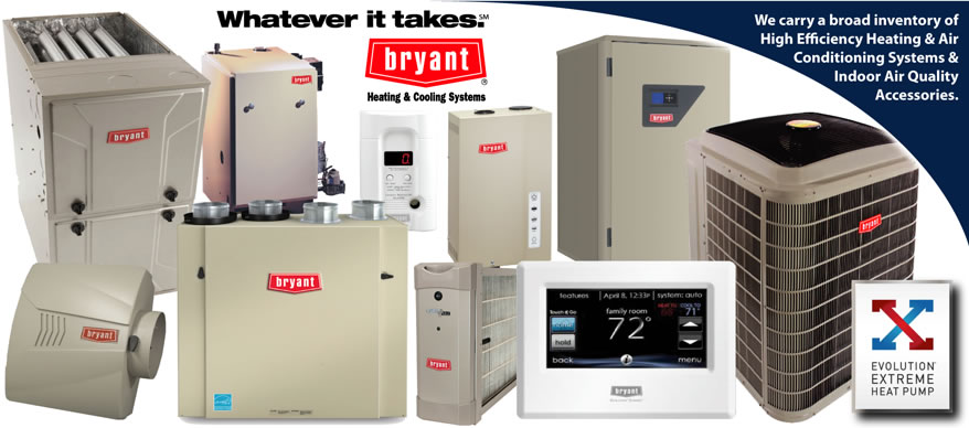 Bryant Heating, Cooling, Indoor Qir Quality Product Sale