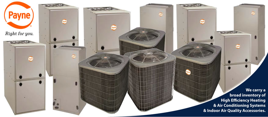Payne Heating Cooling Product Sales